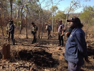 Indigenous Protected Area planning meeting. Photo: Northern Land Council