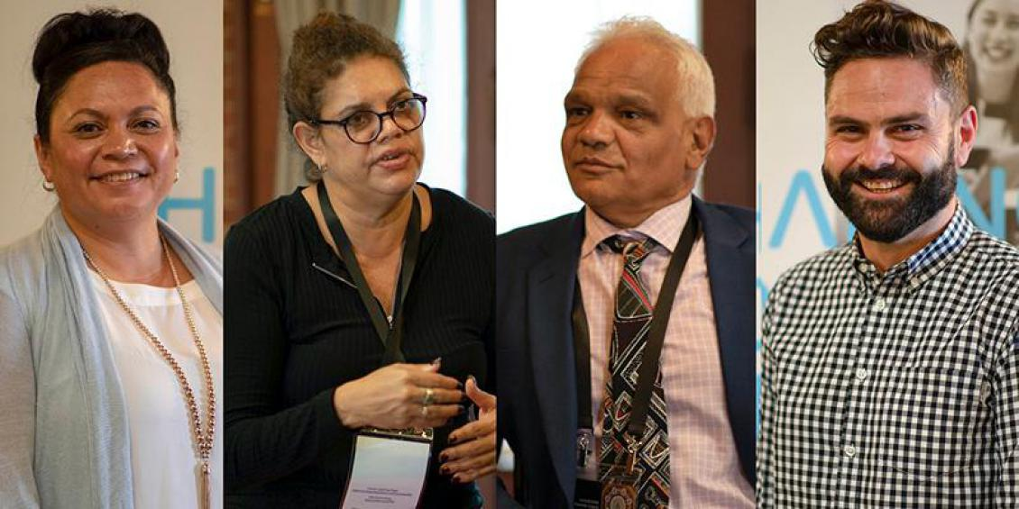 Image of four members of the Indigenous Public Servant Forum